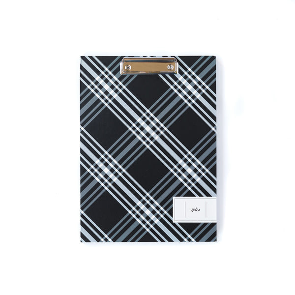 Plaid Notes Padfolio