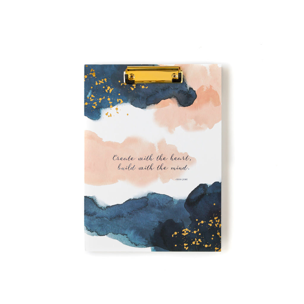 Watercolor Padfolio