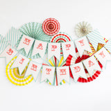 "Paper Love Carnival ""Happy Birthday"" Letter Banner"