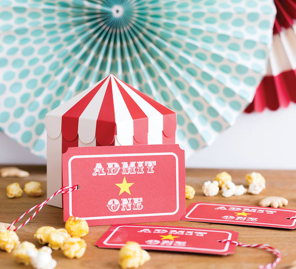 Paper Love Carnival Oversized Tags