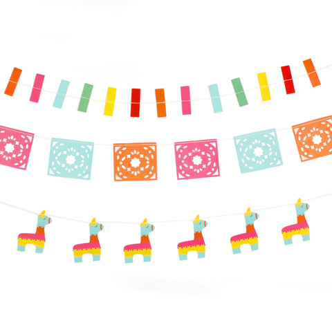 Paper Love - Fiesta Mini Banner Set