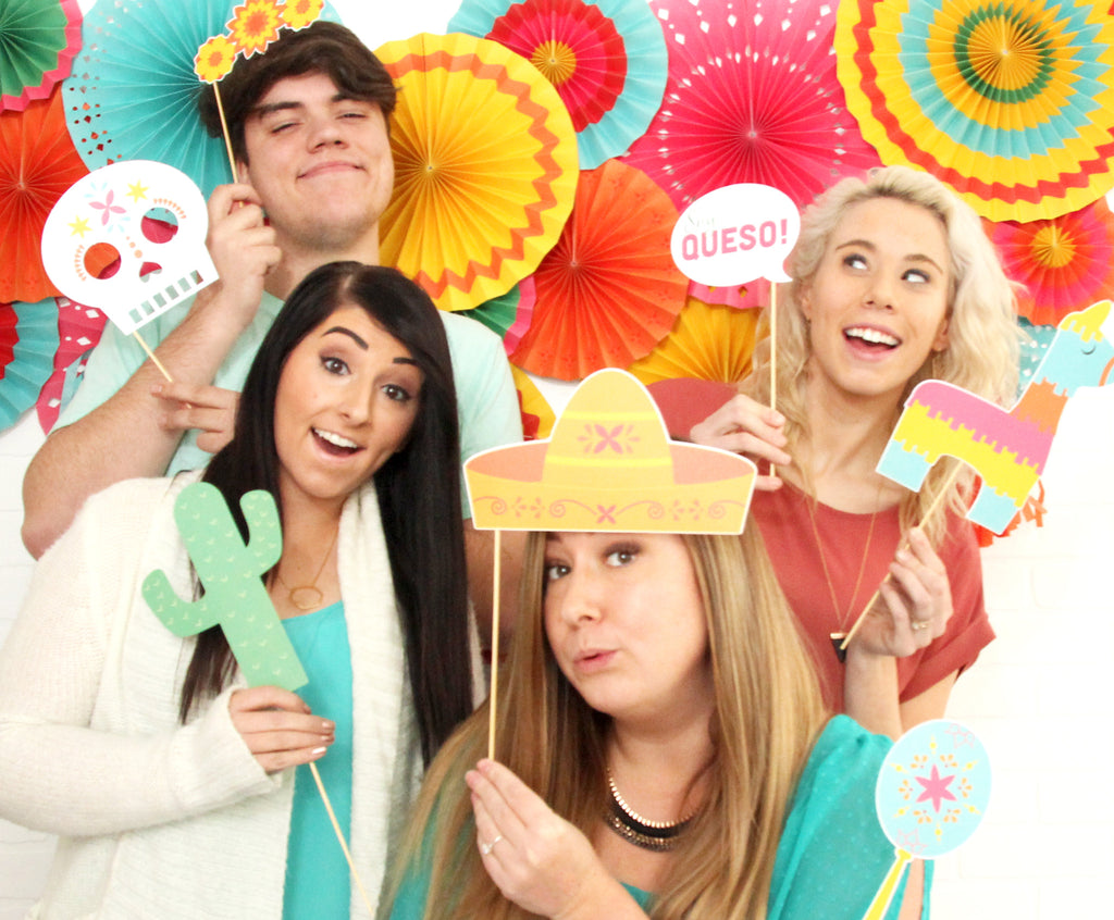 Paper Love - Fiesta Photo Props