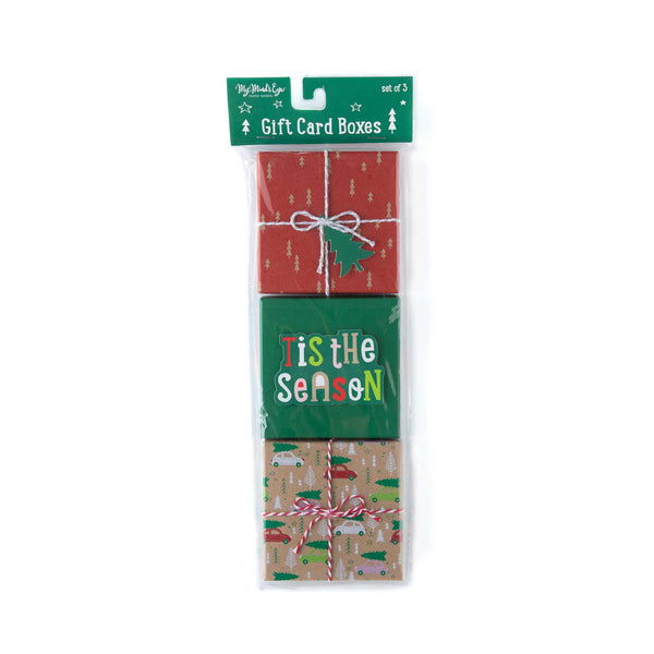 Tis the Season Gift Card Boxes (Set of 3)