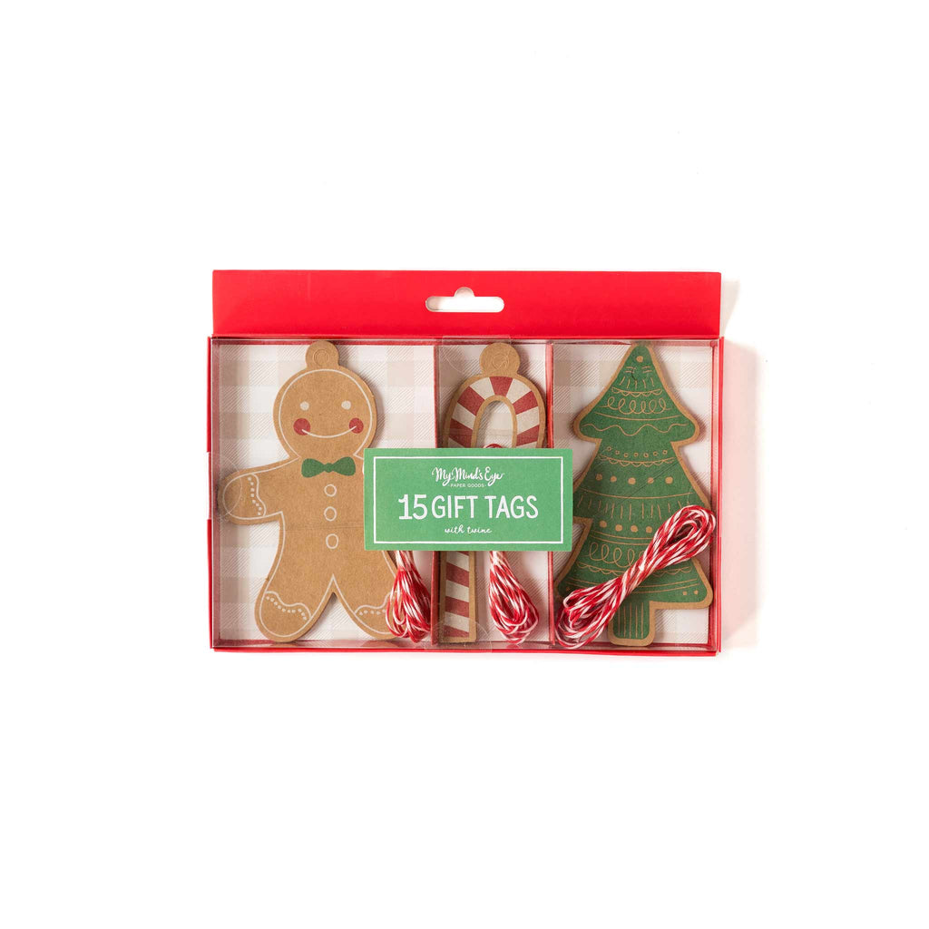 Gingerbread Tag Set