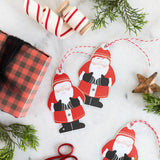 Santa Oversized Tag Set