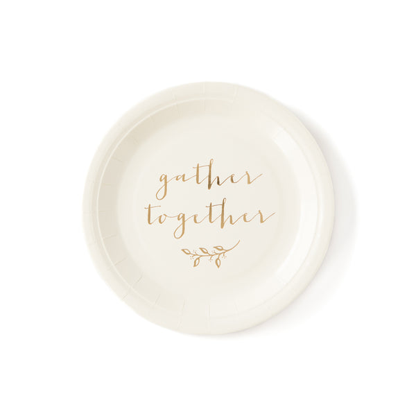 "Harvest Gather Together 9"" Plate"