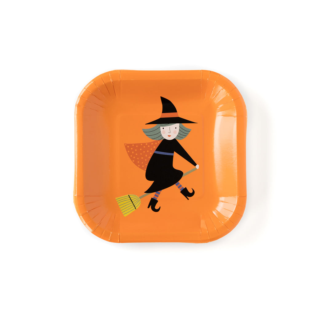 top down shot of the 7 inch witch plate