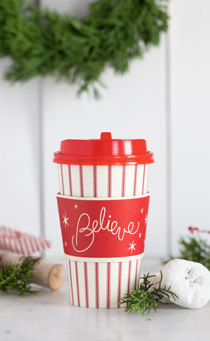Believe Coffee Cups 8 count