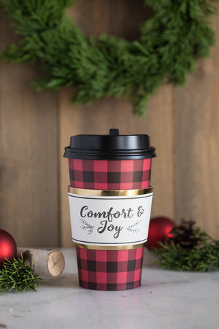 Comfort & Joy Coffee Cups 8 count