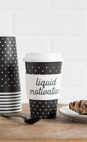 Liquid Motivation Coffee Cups 8 count