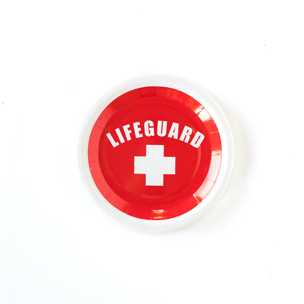 "Lifeguard 7"" Plates"