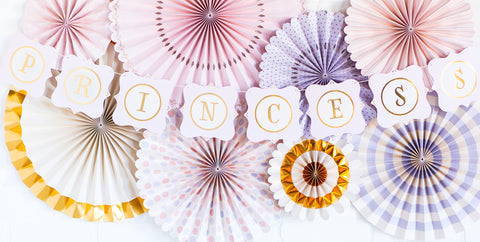 Paper Love - Princess 60pc Letter Banner
