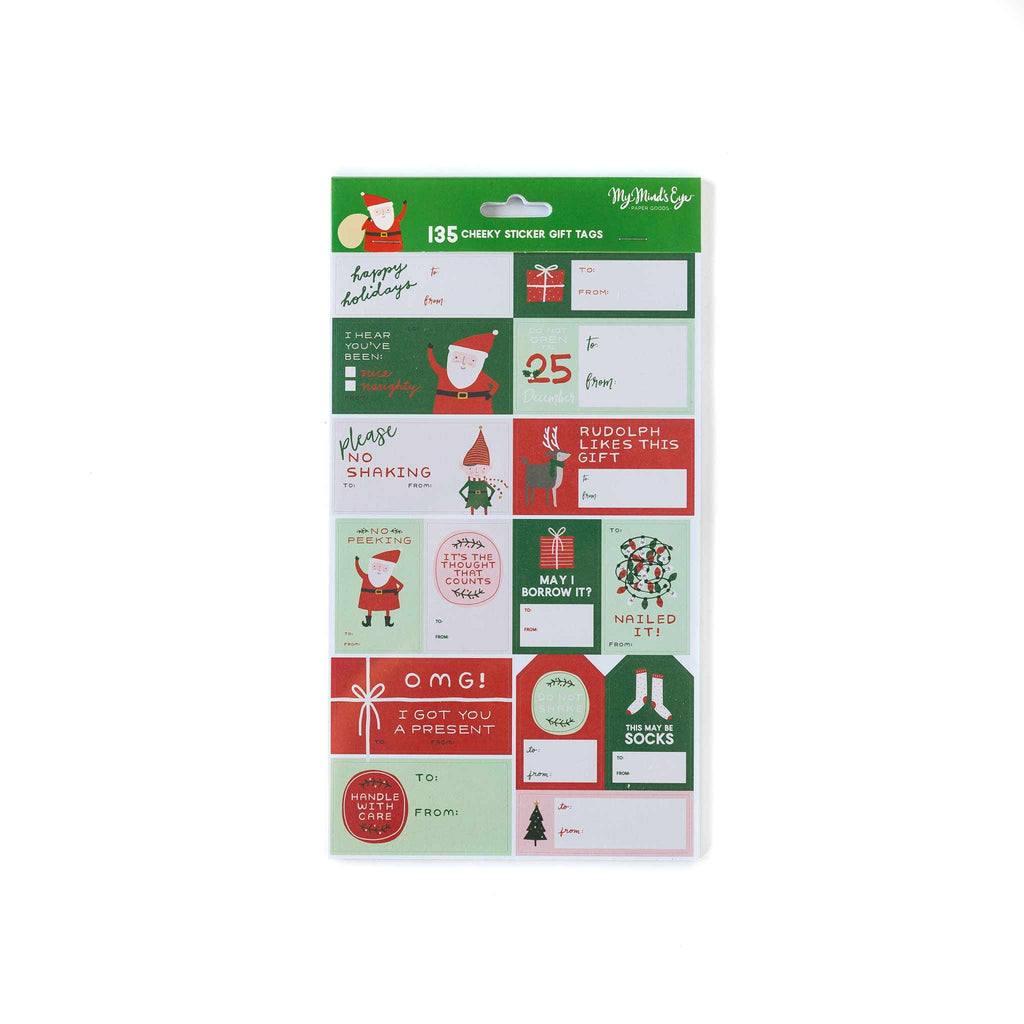 Christmas Sticker Tag Set