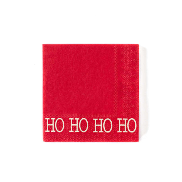 HO HO HO Cocktail Napkin