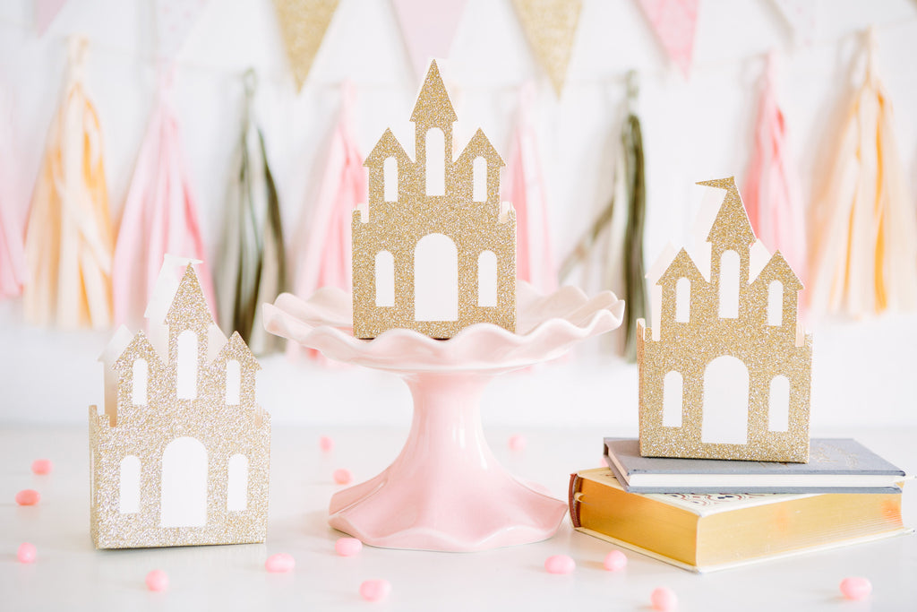 Princess Castle Favor Boxes