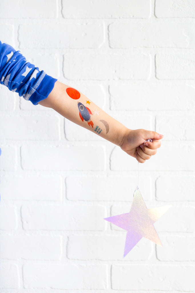 Rocket Temporary Tattoos