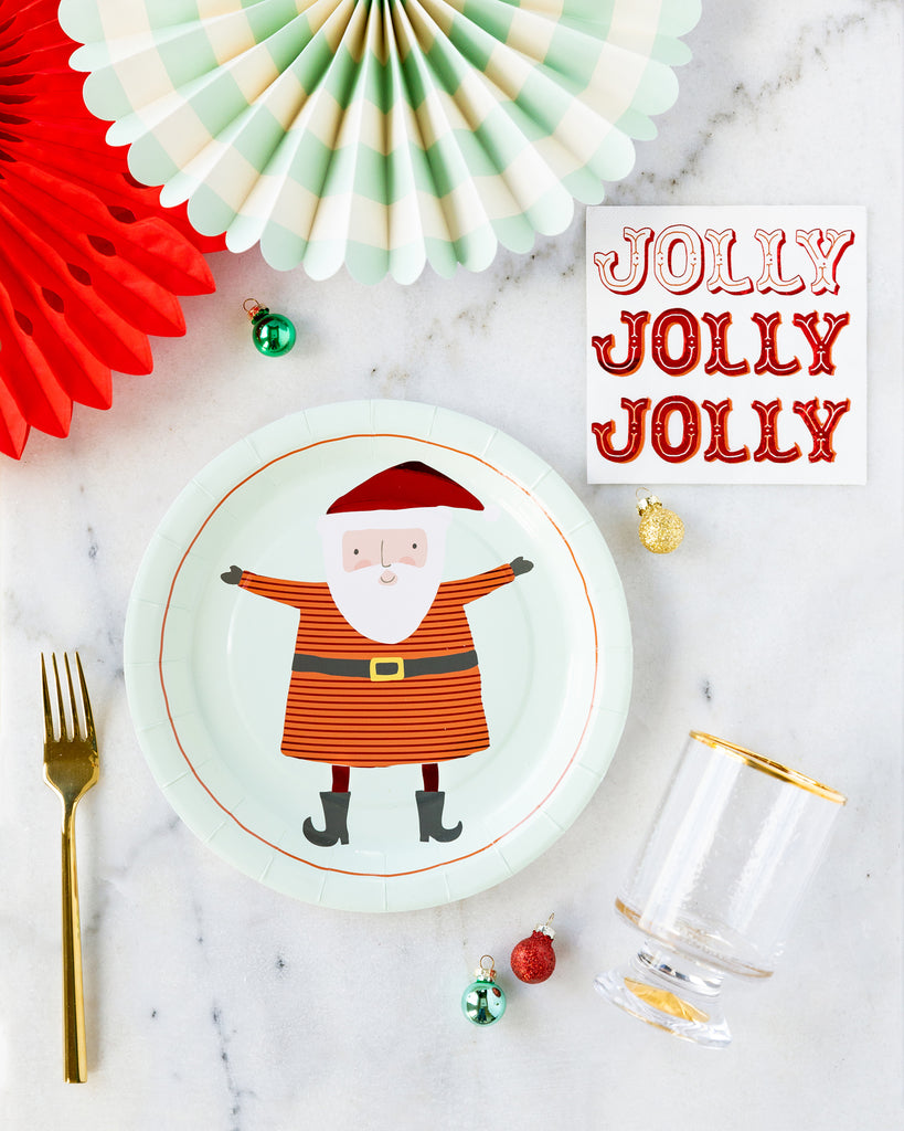 Santa and Jolly Tabletop Collection