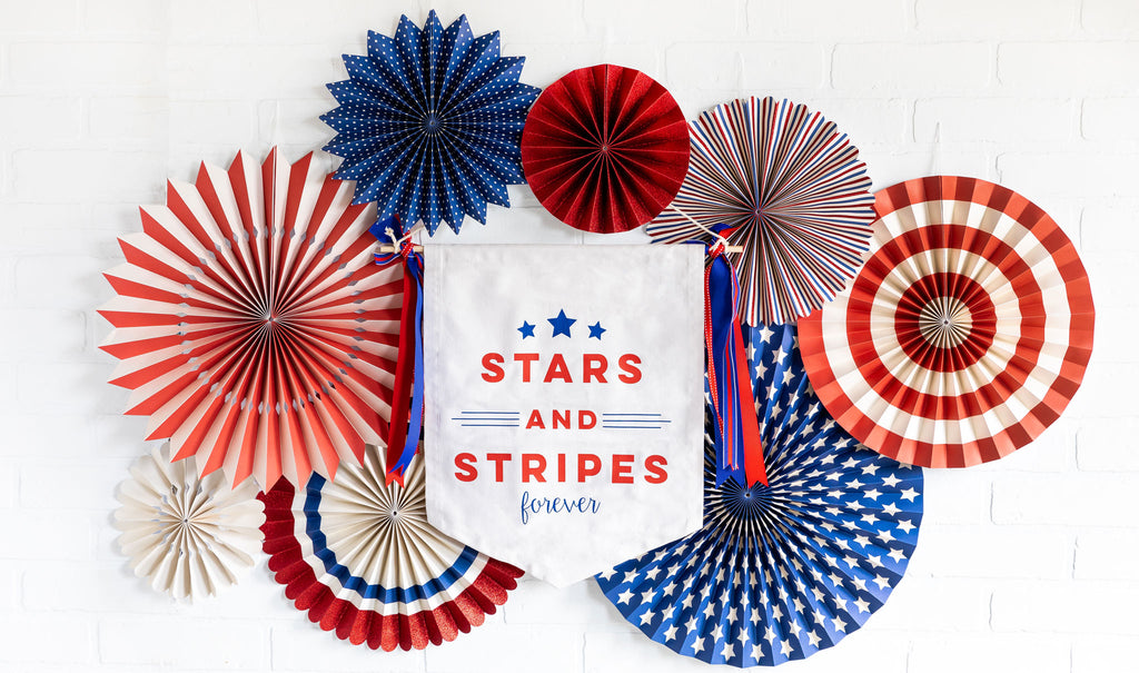 Stars & Stripes Canvas Banner