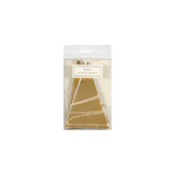 Gold Foil Mini Pennant Banner - TRP006