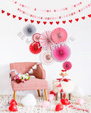 Valentines Party Backdrop