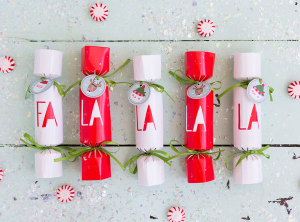 Holly Jolly Party Crackers Stylized