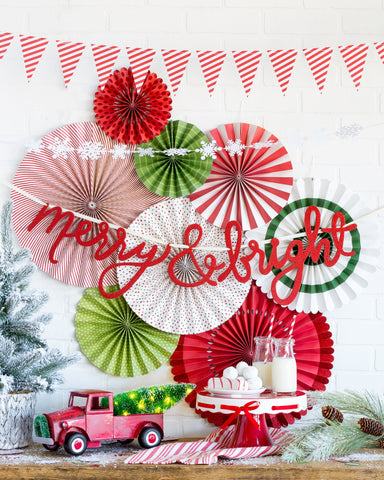 Merry and Bright Christmas Decor Collection