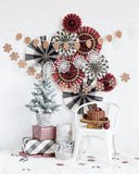 Winter Plaid Christmas Decor Collection