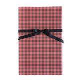 PGW315 Gift Wrap Sheets - Plaid Red Check / Black Check