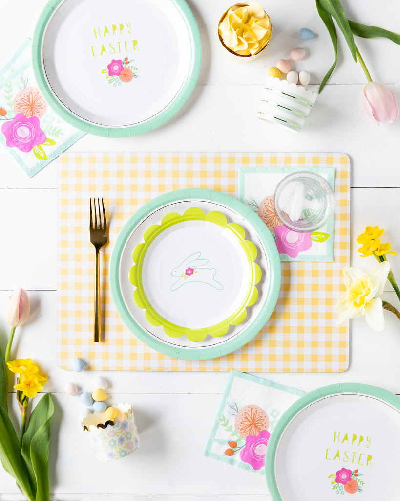 Bunny Hop Tabletop collection #2 with Baking Cups
