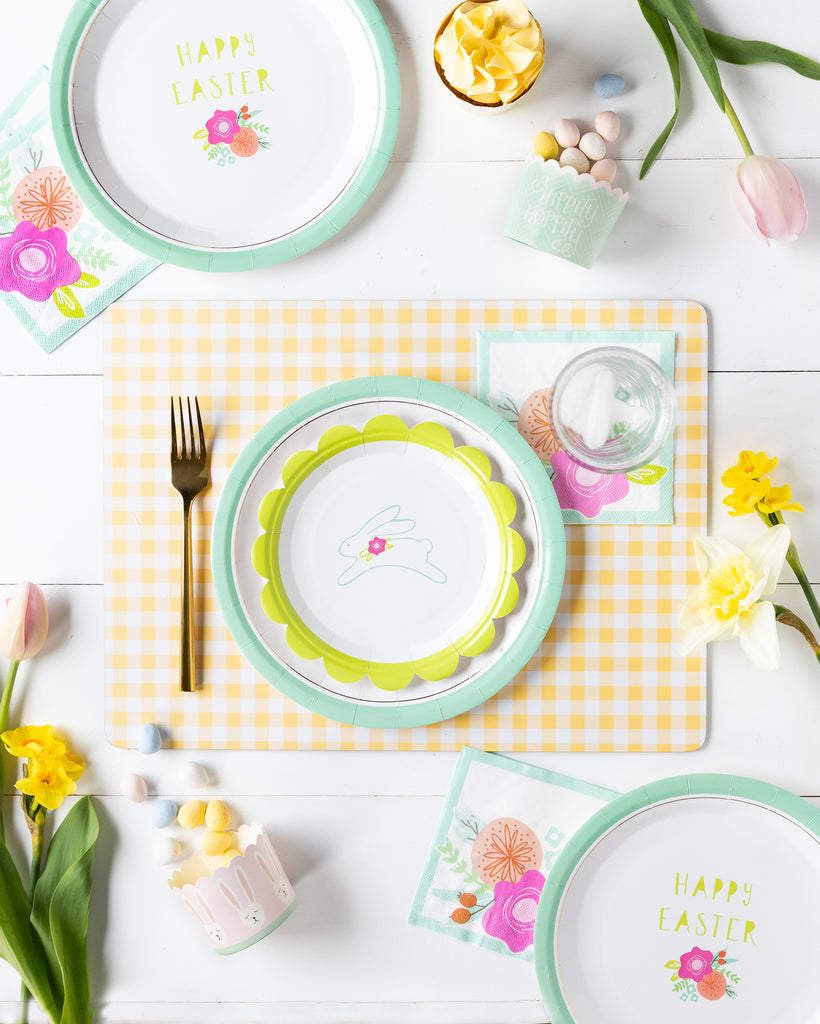 Bunny Hop Tabletop collection #3 with Baking Cups