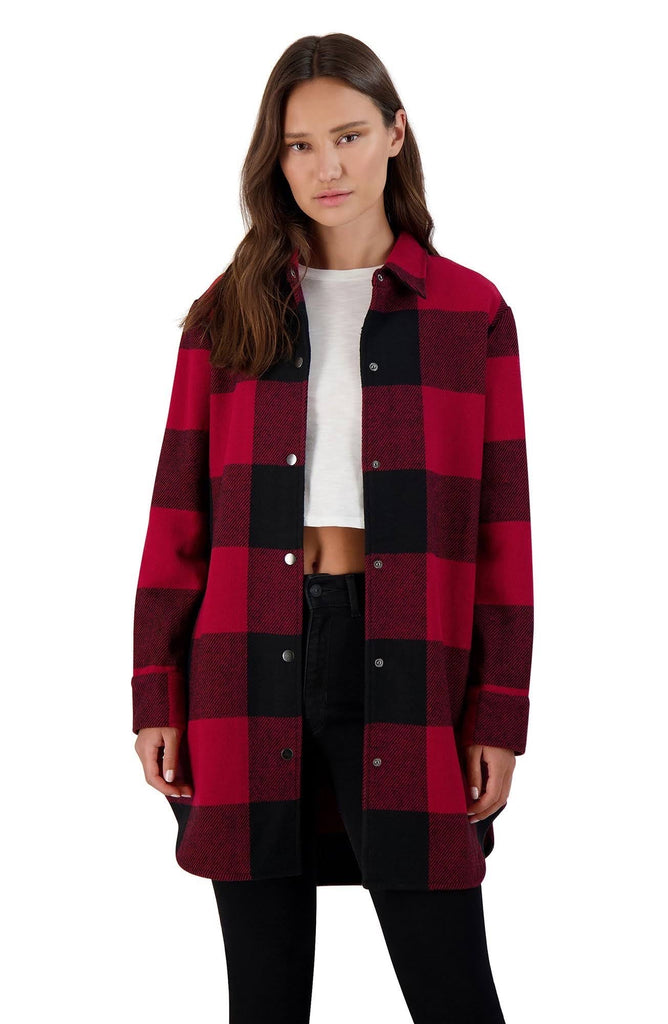 Eldridge - Plaid Jacket - Red