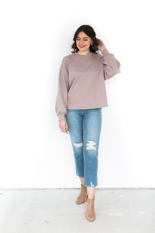 Oversized Sweatshirt with Pockets - Sien