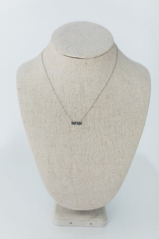 H - Sunburst Initial Necklace