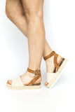 Topic - Flatform Sandal - Canvas