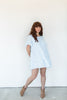 Tiered Babydoll Dress - Periwinkle
