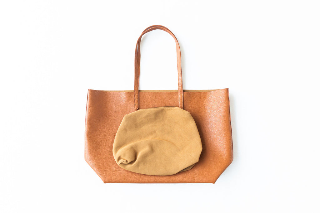 The Essentials Tote Bag - Cognac