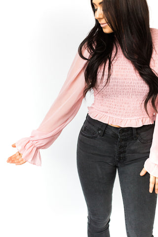 Pink Lips Babydoll Top