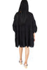 Tiered Babydoll Tunic - Black