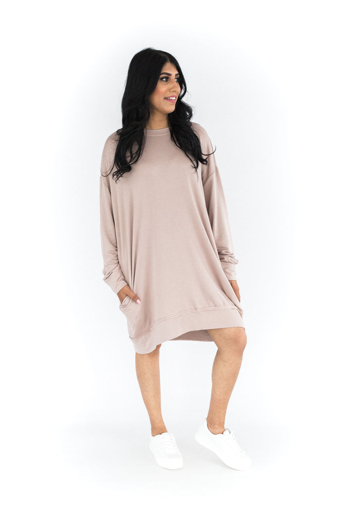 Oversized Ultra Soft Sweater - Almond