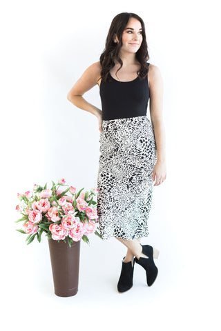 Vintage Polka Dot Skirt