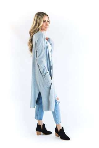 Grey Sweatshirt Dress