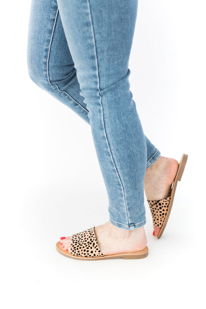 Equal - Flat Sandal - Cheetah