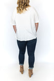 Loose Fit T-Shirt - White
