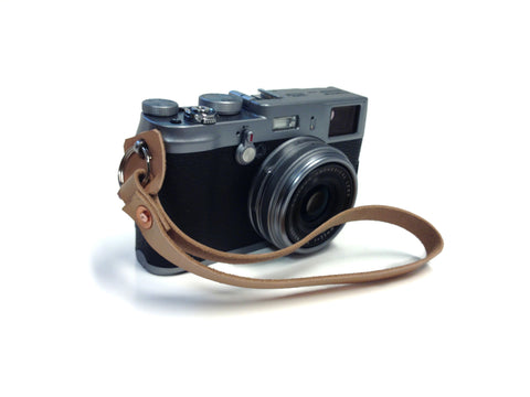 Camera Wrist Strap - Veg Tanned Leather