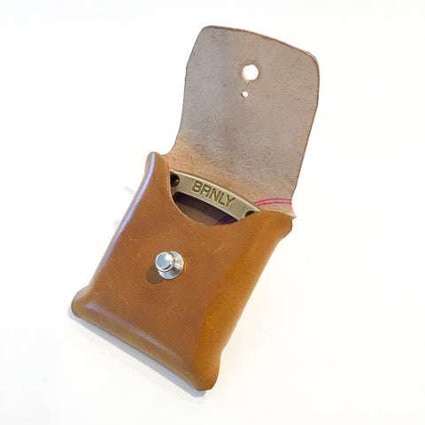 Cypop Pouch - Whiskey Shell Cordovan