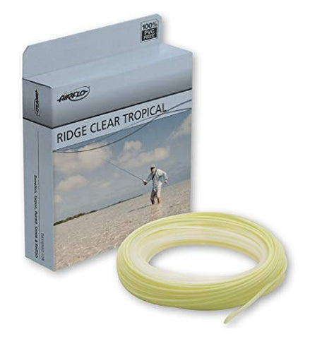 Airflo Fly Line Ridge Tropical Clear Tip Floating Bonefish/Redfish/Tarpon