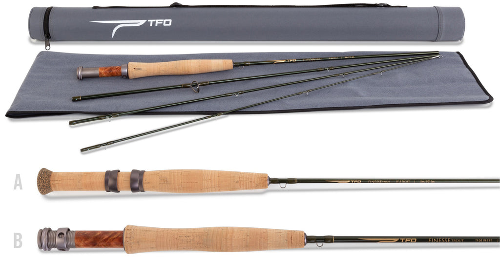 TFO Finesse Fly Rods