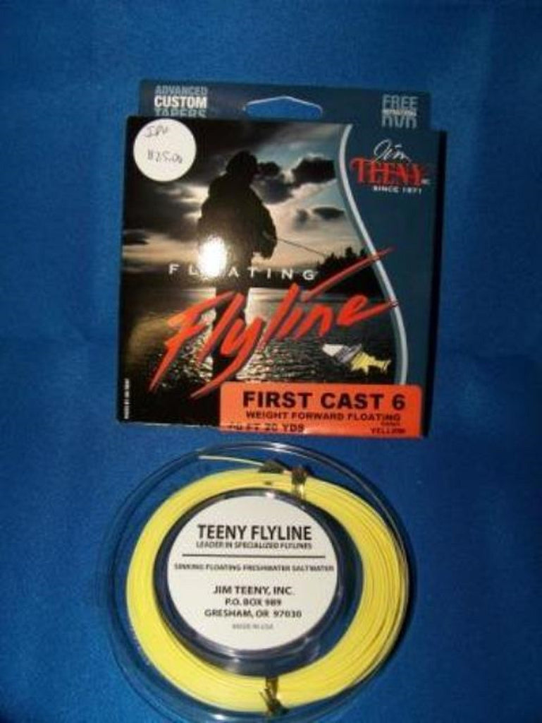 Jim Teeny First Cast Fly Line WF Color Yellow