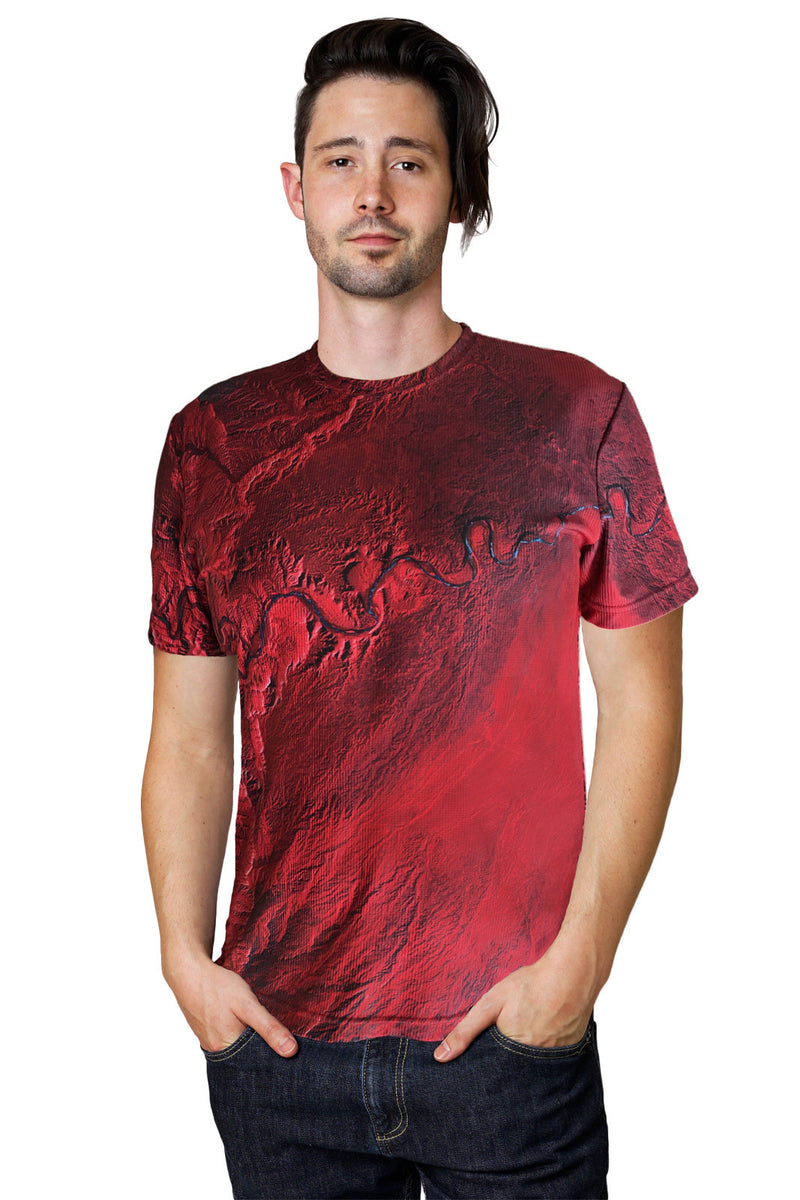 Exciting New Earthscapes Images in Mens Shortsleeve T-shirts! Your Travel-Adventure Clothing.