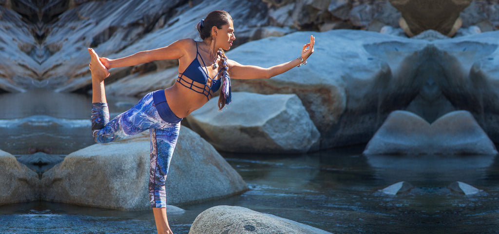 InVisions Yoga Leggings-Nature Clothing-Festival Leggings
